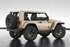 modified white jeep wrangler jeep and mopar reveal six new concept vehicles cartype