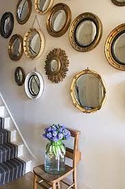Mirror Collage Wall An Apartment In Brazil Defined By Luxury And Eclecticism White