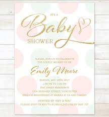 pink and gold baby shower invitations pink mint gold baby girl shower invitation pink mint gold