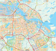 Detailed Map Of Spain by Maps Of Amsterdam Detailed Map Of Amsterdam In English Maps Of