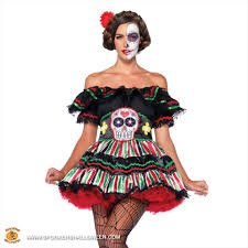 day of the dead doll costumes for women spookers halloween