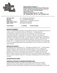 Example Executive Assistant Resume by Example Of Executive Assistant Resume Samples Of Resumes