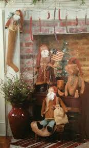 500 best santas images on pinterest father christmas primitive
