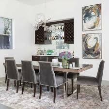 Contemporary Upholstered Dining Room Chairs Gray Dining Room Furniture Caruba Info