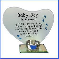 baby boy poems photo poem plaque with tea light candle holder baby boy in