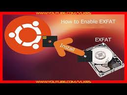 format exfat partition ubuntu como habilitar montar partições exfat no linux ubuntu resolvido