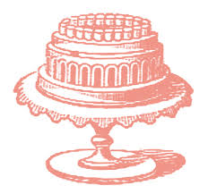 vintage cake stand free vintage images cake on cake plate the graphics fairy