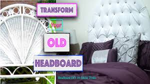 how do you make an upholstered headboard diy how to make a tufted headboard no sew transform your old