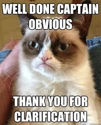 Captain Obvious Meme - well done captain obvious cat meme cat planet cat planet