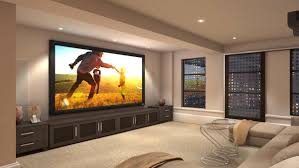 black diamond residential projector screen 7 series fixed