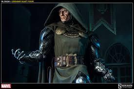 Dr Doom Mask Marvel Doctor Doom Legendary Scale Tm Figure By Sideshow Co