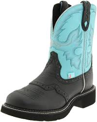 womens justin boots size 9 justin boots s boot black deer cow 9 b us justin boots