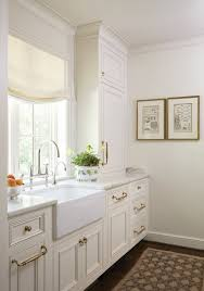 Classic White Interior Design Stately U0026 Subdued A Classic White Kitchen