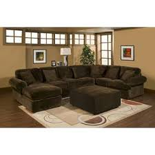 chocolate sectional sofa cmi 3 pc bradford sectional sofa with chocolate plush velour