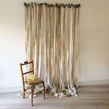 Curtains For Wedding Backdrop Hessian And Lace Wedding Backdrop By Just Add A Dress