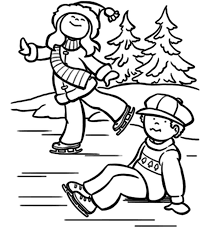 coloring pages winter coloring pages free winter coloring pages