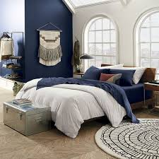 Linen Covers Gray Print Pillows White Walls Grey Stylish Sources For Organic Bedding