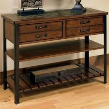 null furniture chairside table null furniture 3013 3013 09 sofa table with 2 drawers and 2 shelves