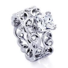 Sterling Silver Wedding Rings by Wedding Rings Sterling Silver Wedding Ring Sets Engagement And