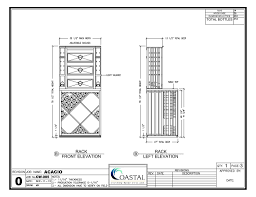 diamond bin wood wine racks design drawing this shows the drawers
