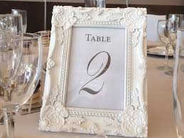 silver frames for wedding table numbers picture frame table numbers choice image coloring pages