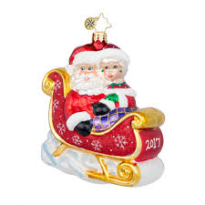 christopher radko personalized ornaments baby u0027s first wedding