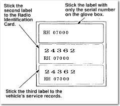 how to retrieve radio code for honda accord how do i get security code to unlock my radio had to