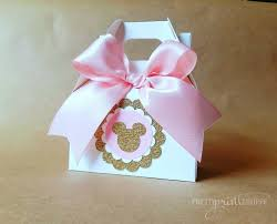 Birthday Favor Boxes by Minnie Mouse Birthday Favor Boxes Minnie Mouse Birthday