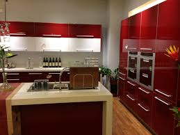 red kitchen furniture cool acrylic kitchen cabinets pros and cons photo decoration ideas