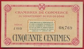 chambre du commerce belfort belfort 1 franc 1918 fdcollector