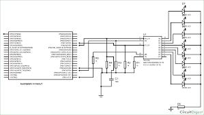 Led Blinking Circuit Diagram Raspberry Pi 74hc595 Shift Register Tutorial