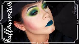 glam wicked witch tutorial halloween 2016 samantha ebreo youtube