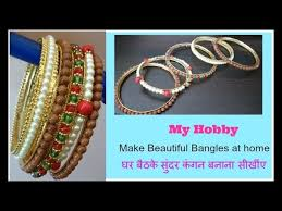 Learning To Make Jewelry - diy how to make bangles step by step imitation jewelry pearl