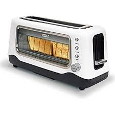 Magimix Clear Toaster Amazon Com Magimix Colored Vision Toaster Cream Kitchen U0026 Dining