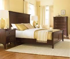 Cherry Wood King Headboard Bedroom Excellent Picture Of Bedroom Design Ideas Using Solid