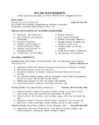 4 Resumes Samples For Teachers by Student Teaching Resume Samples Student Teacher Resume Student