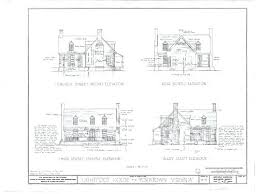 historic colonial house plans plans historic colonial house plans