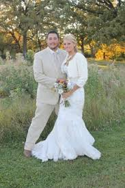 fall wedding forest preserve wedding party photo beige dresses