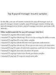 payroll manager resume cover letter payroll manager resume sle payroll administrator