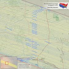 Platte River Map Nebraska Eclipse U2014 Total Solar Eclipse Of Aug 21 2017