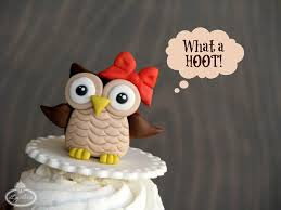 owl cake toppers how to make fondant owl cupcake toppers