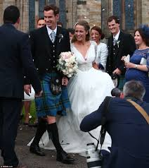 andy murray and kim sears u0027 wedding at dunblane cathedral daily