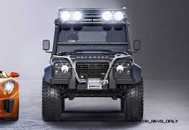 land rover truck 2015 jaguar land rover 007 spectre cars 3