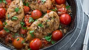 cuisine cherry sauteed chicken with cherry tomatoes recipe genius kitchen