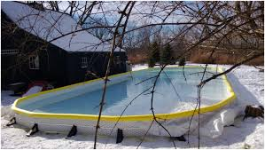 backyards trendy backyard ice rink using plywood boards 90