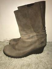 womens wedge boots size 9 keen boots womens size 9 kate black leather wedge heel slouch