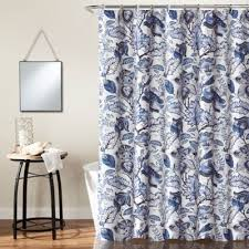 Floral Curtains Buy Blue Floral Curtains From Bed Bath Beyond