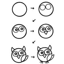 drawing owls step by step drawing for kids stepstep owl
