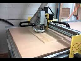 used cnc router table used ez cnc model 4896 cnc router 4 x8 vacuum table 10171 youtube