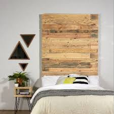 anderson reclaimed industrial pallet wooden headboard by sunnyside